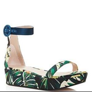 Stuart Weitzman Capri Platform Ankle Strap Sandals